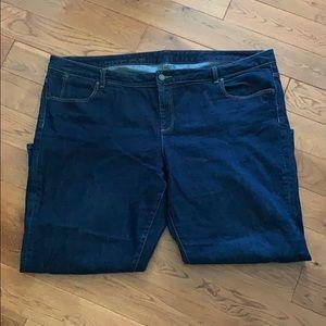 Talbots Signature Crop Jeans